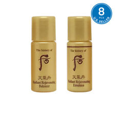 The History of Whoo Hwa hyun Balancer (4pcs) + Lotion (4pcs) 8pcs Hwahyun New