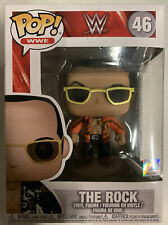 Wwe The Rock Orange Jacket Funko Pop #46 Dwayne Johnson Wwf