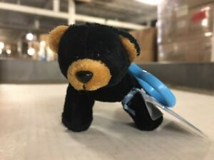 Webkinz Kinz-Klip Black Bear With Online Code To Collect And Love Ganz