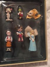DISNEY Storybook Christmas Ornament Collection: PINOCCHIO, 6pc Set