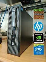 HP Minecraft Gaming PC Intel 3.4GHz NVIDIA 730 8GB RAM 500GB HDD Windows 10 j