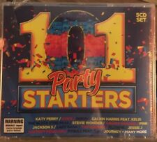 101 Party Starters - 5 xCD FatBox  - CD  NEW SEALED