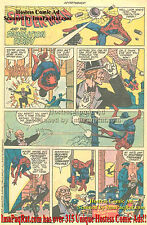 Very Early FRANK MILLER Comic Art Hostess Twinkies Spider-Man & Demolition Derby