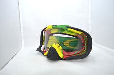 Glasses / Mask  OAKLEY CROWBAR BIO HAZARD RASTA W/CLEAR