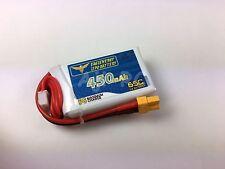 Micro FPV Race Babyhawk 450mAh 14.8V 65C LiPo Battery w/XT30