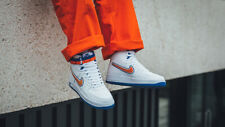 NIKE AIR FORCE 1 HIGH 07 LV8 SPORT- UK 11/US 12/EUR 46/CM 30 - WHITE/BLUE/ORANGE