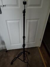 More details for budget straight cymbal stand. (black).