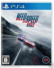 Used PS4 Need for Speed Rivals  SONY PLAYSTATION 4  JAPANESE JAPONAIS IMPORT