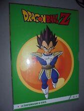 DVD N ° 6 DRAGONBALL Z-DRACHE KUGEL TRANSFORMATION VON VEGETA KURIER GAZZETTA
