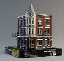 WOODLAND SCENICS HO SCALE DAVENPORT DEPARTMENT STORE BUILT & READY 5039 NEW