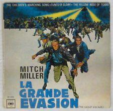 La grande évasion 45 tours Mitch Miller Steve McQueen