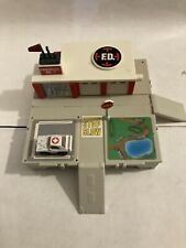 Vintage Micro Machines Travel City Fire Department Complete With 1 Car