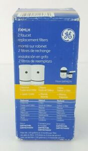 GE Faucet Mount Replacement Filters FXMLH (2-pack) NEW Fast Shipping
