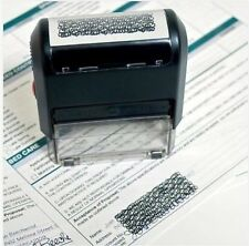 Self Inking ID Protection Stamp