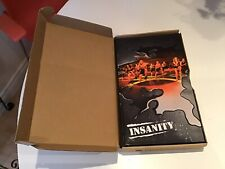 Beachbody INSANITY workout DVD collection - set of 10 boxed.