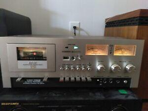 VTG Akai GXC-730D Stereo Cassette Deck  Auto Reverse Reverse Recording Tape Deck