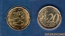 Finlande - 1999 - 20 centimes d'euro sous scéllé provenat coffret BU