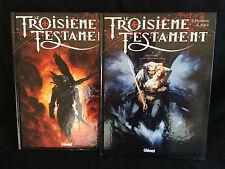 Le troisième testament, T1 et 2 en TTBE, le T2 en E.O