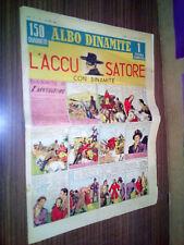 """ALBO DINAMITE N.7 1946 L'ACCUSATORE - MOLTO BUONO """"M"""""""