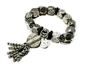 Bijou bracelet créateur alliage argenté Réminiscence  bangle
