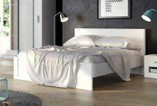 Brand New Modern Bedroom Bed Frame IDEA 08 in White Matt 160x200