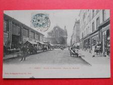 NANCY  :  La Place du Marché  -  Église St-Sébastien.........VO.1905.