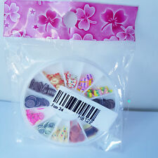 Nail Art Wheel with 12 Slots - Sweet & Cake Designs