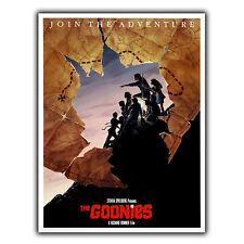 THE GOONIES 1985 METAL SIGN PLAQUE Vintage Retro Advert Poster Print cinema room