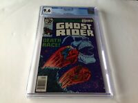 GHOST RIDER 35 CGC 9.6 WHITE PAGES DEATH RACE GREAT COVER MARVEL COMICS