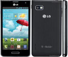LG Optimus F3 (LS720) - 4GB Black - TracFone - Good Condition