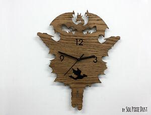 Dragons Modern Cuckoo clock - Wooden Wall Clock