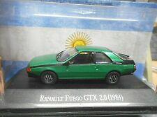 RENAULT Fuego GTX 2.0 Coupe 1984 grün green Argentina Atlas IXO Altaya SP 1:43