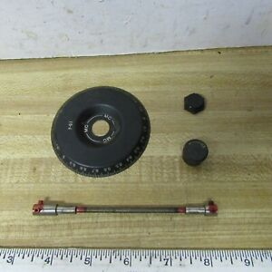 ARC-5 Knobs Dial Plates Flex Shaft Vintage Military HAM RADIO