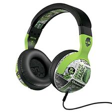 SkullCandy HESH DeciBel Headphones Mic1+ Remote Lurker Toxic Flyer Green/Black