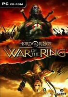 The Lord of the Rings: War Of The Ring PC NEW and Sealed 2003 LOTR War Ring