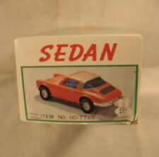 vintage old Box for toy car sedan porsche Taiwan battery operated empty Box only