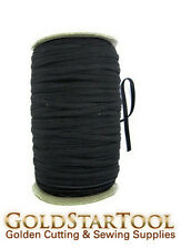 black Knitted Elastic Roll 1/4