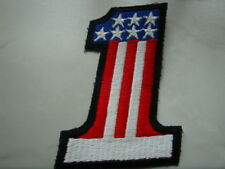 USA / AMERIKA AUFNÄHER/PATCH - Number 1 / No1 Donald Trump - America First