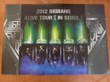 BIGBANG Alive Tour In Seoul 2012 Live Concert dvd [OFFICIAL] POSTER K-POP