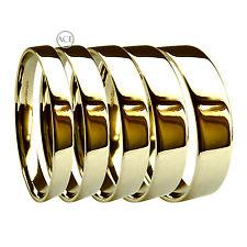 Anelli di metalli preziosi senza pietre in oro giallo 18 carati