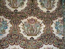 """Elegant Persian pure silk Qum oriental rug (  5ft.1"""" x 3ft.6"""" )"""