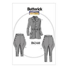 Butterick Adult Male Costume/Fancy Dress Sewing Patterns