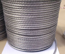 5mm X 10m Silver Dyneema® Fiber Synthetic Winch/ yacht rope tensile:3000kg --NEW