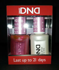DND Daisy Soak Off Gel Polish Warming Rose 708 LED/UV 15ml gel duo NEW