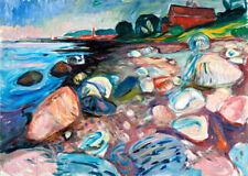 Edvard Munch Red Art Prints