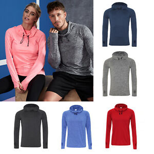 AWDis Just Cool Cowl Neck Top - Men's fitted training top sports/gym/running