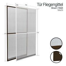 Fliegengitter Tür Insektenschutztür Alu Profi Mücken Rahmen Insekten Gitter -Neu