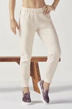 Fabletics Asha Jogger Jogging Bottoms Pants Size 8 BNWT RRP £57 Vanilla Heather