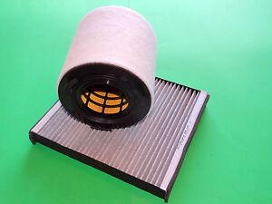 Aktivkohle Pollenfilter + Luftfilter Skoda Roomster (5J) 1.6 TDI (66 & 77kW)