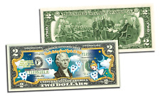 TOOTH FAIRY Good Luck Gift Dentist OFFICIAL Genuine Legal Tender US $2 Bill
